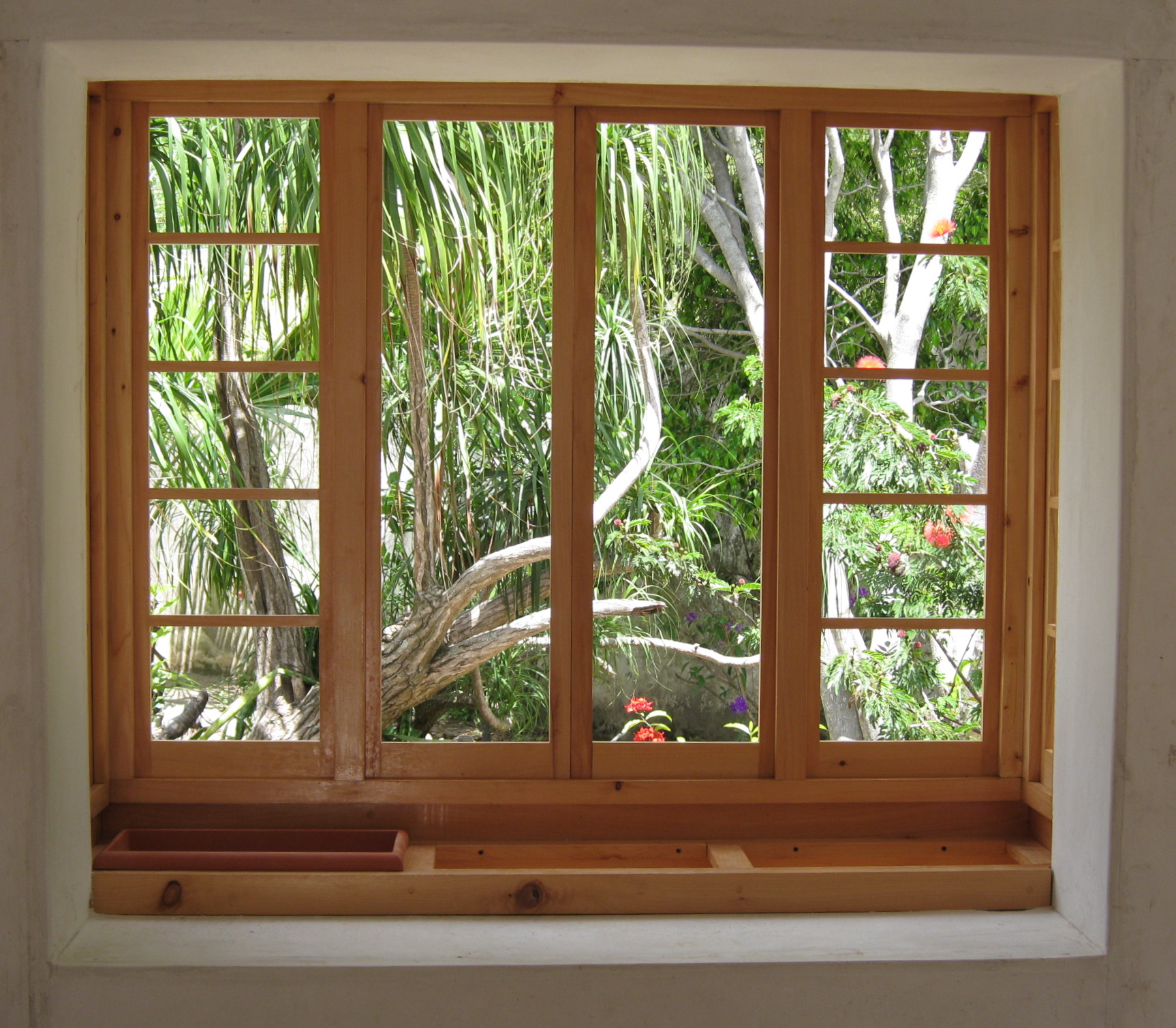 Planter box window interior eschenbach construction co for Interior windows